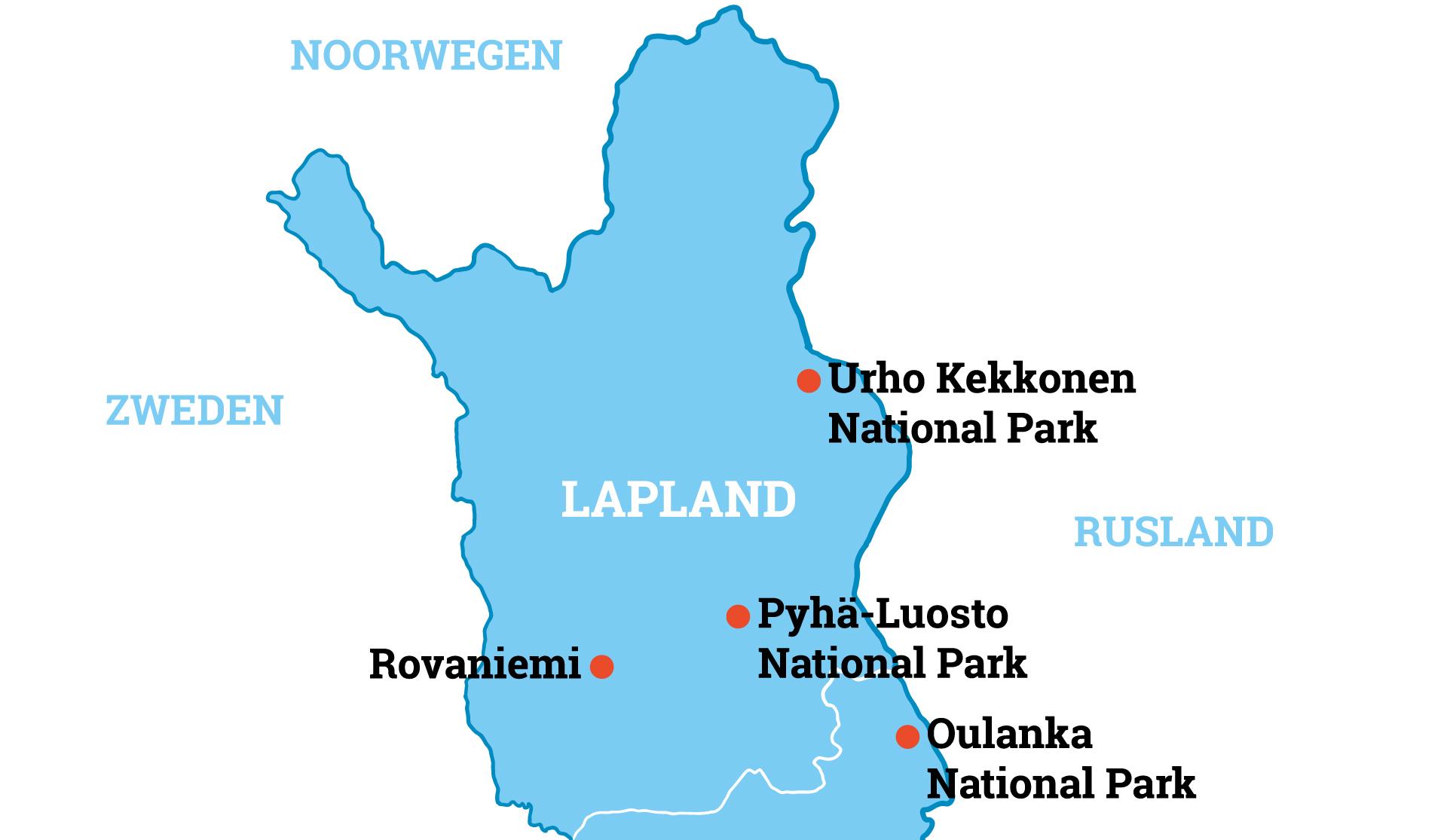 National parks lapland wandelreis
