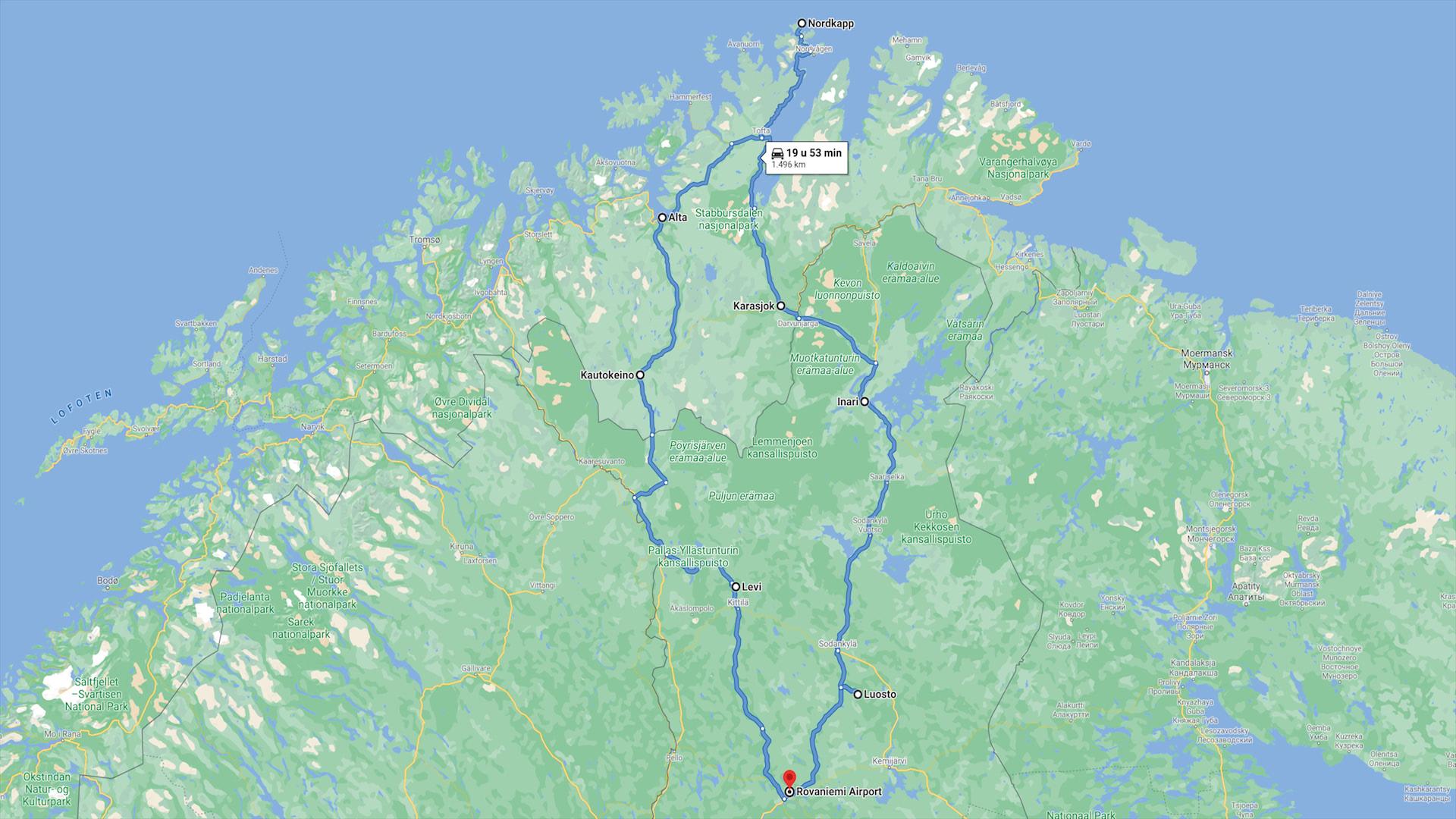 Cultuurroute noord scandinavie